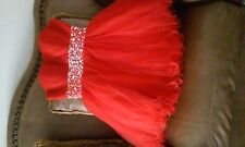Party/Dama Quinceanera Red Dress Size M