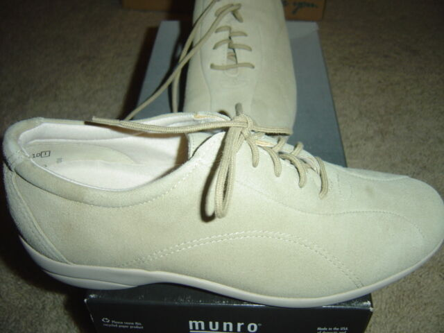 Munro American American American Kellie Sand Suede Women's shoes Size 6.5 M Medium NEW 98b4bd