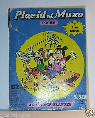 2019 Nuevo Estilo Placid Muzo Poche N°172 B Livre Bande Dessinee Bd Made In France Arnal 162 Pages