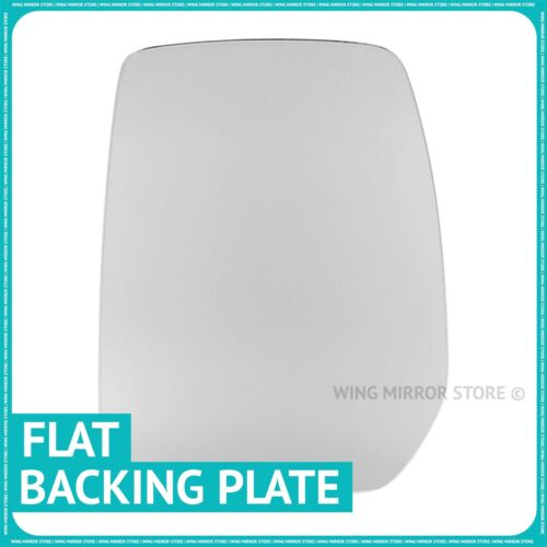 Left hand passenger side for Ford Transit 2000-13 Flat wing mirror glass plate