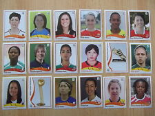 Panini mujeres WM 2011 - 50 elegir sticker nuevo
