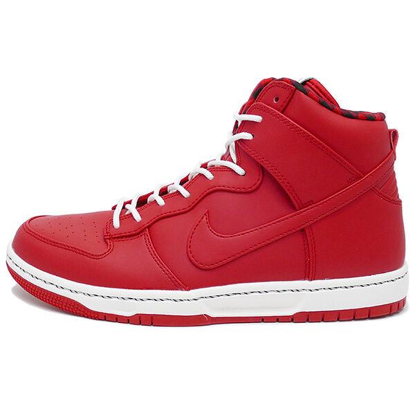 Men's Nike Dunk Ultra Shoe!! SPORT RED/SPORT RED/SAIL/BLACK!!