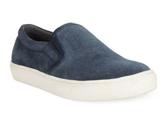 Alfani Men's Slater Suede Slip-On Casual Sneaker shoes Navy