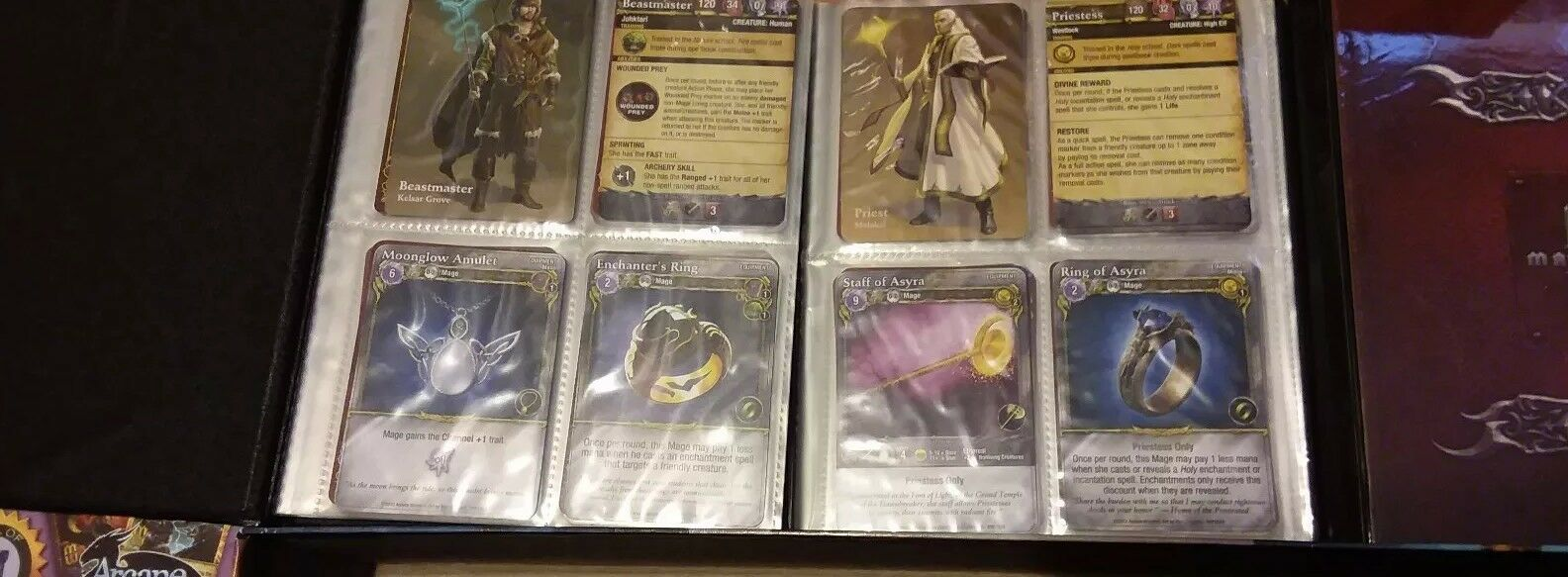 Arcane Wonders Mage Wars Game Game Game of Dueling Mages w/Mage Wars Academy Core Set 021b16