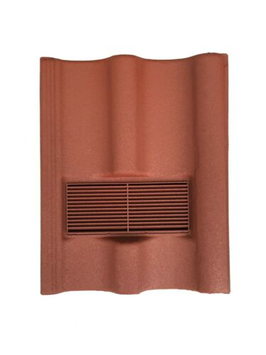 Double Pantile Redland Grovebury Roof Tile Vent To Fit Marley Mendip
