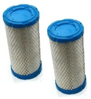 (2) Air Filters Cleaners Briggs & Stratton Engine Motor Lawn Mower Tractor