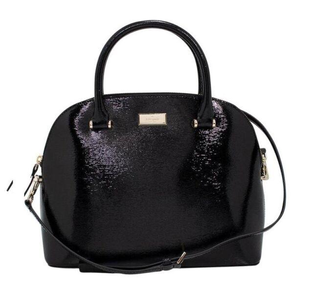Nwt Kate Spade Carli Bixby Place Crossbody Leather Bag Satchel Black Wkru4701