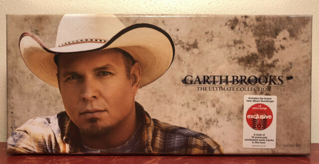 Garth Brooks The Ultimate Collection 10 Disc CD Set BRAND NEW SEALED
