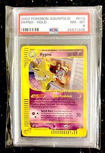 Hypno-Holo-Pokemon-Card-e-Aquapolis-H12-H32-PSA-8-NM-Mint