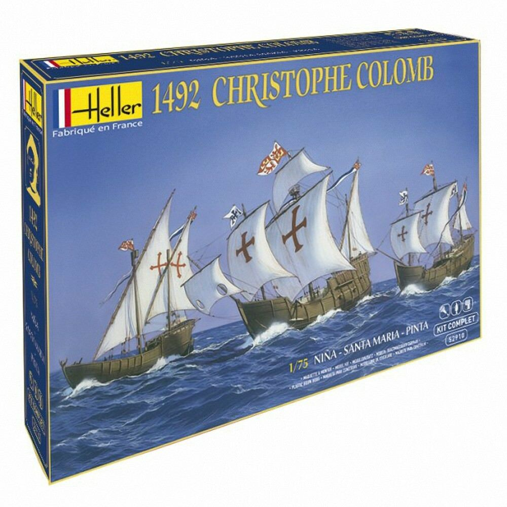 Heller 1 75 Christopher Columbus Set Regalo  52910g
