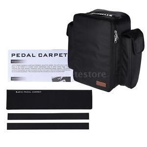 joyo pc 1 soft guitar effect pedal board carpet pedalboard black l4i4 760450099282 ebay. Black Bedroom Furniture Sets. Home Design Ideas