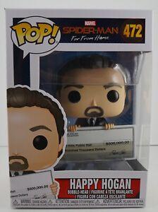 Marvel Spider-Man Far From Home: Happy Hogan #472 Funko POP IN-STOCK