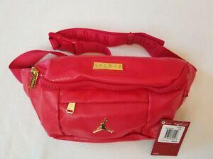 los más valorados bien conocido mas fiable JORDAN LUXURY BELT BAG GYM RED BRAND NEW RED / GOLD ONE SIZE | eBay