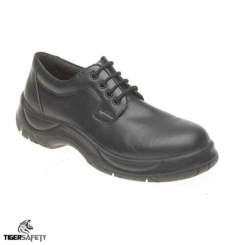 Himalayan S511 SRC Homme Noir Large Fit High Grip Anti Glisse uniforme Bureau Chaussures