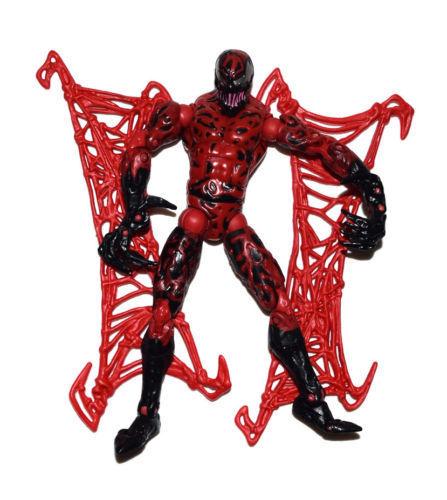 "6/"" Marvel Comic Series Spiderman Spider-Man Movie Carnage Loose Action Figure"