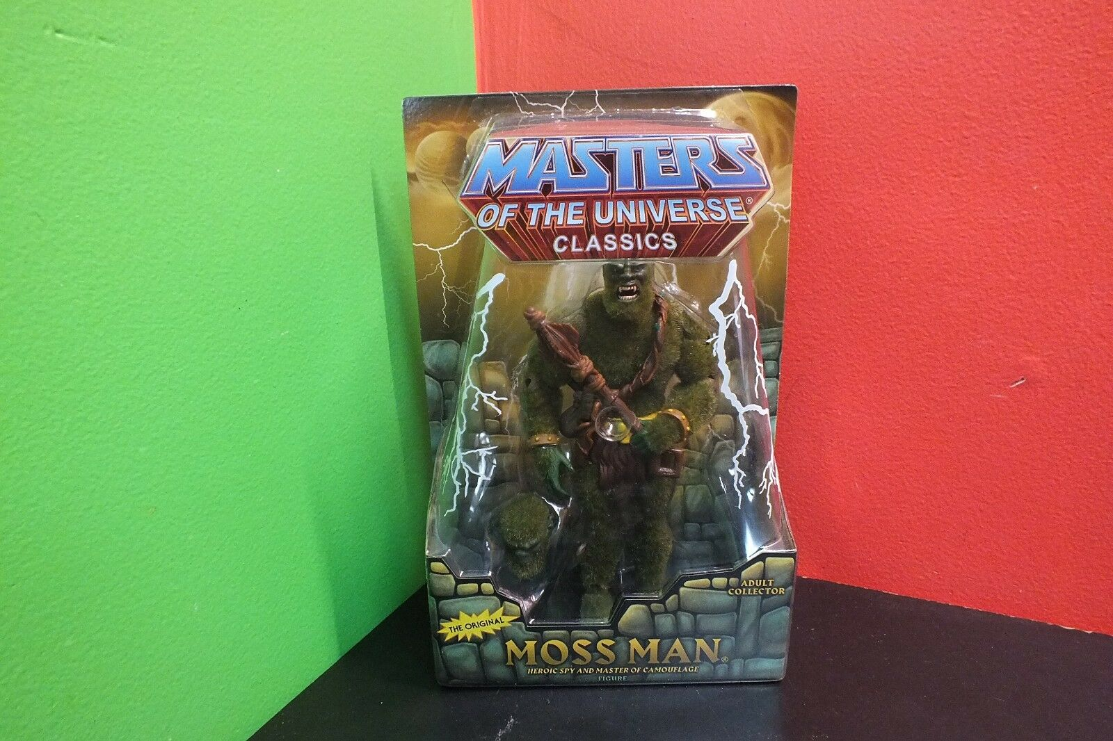 Mattel Masters of the Universe Classics Moss Man NEW IN BOX