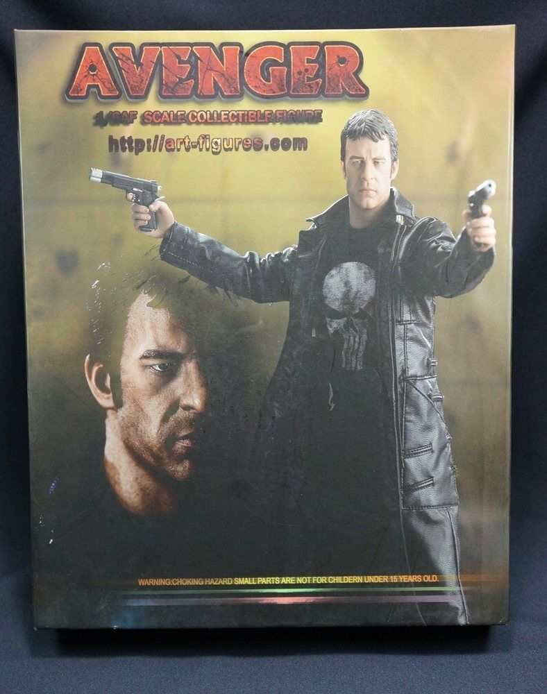 ART FIGURE 1 6 PUNISHER THOMAS JANE    -- US SELLER --