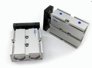 TN16X500 16mm X 500mm doble Barra Cilindro de Aleación de Aluminio Aire Neumático