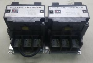 cheap prices offers Cutler-Hammer Reversing Contactor 200A  3Ph ...