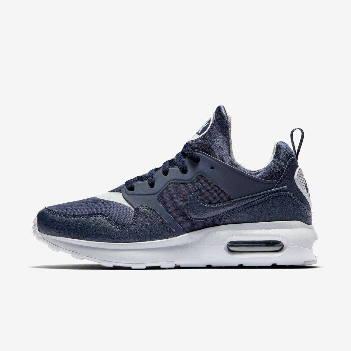 Nike AIR MAX PRIM da Uomo Hi Top Trainer Shoe SZE 6 8.5 9 10 Grigio OSSIDIANA RRP