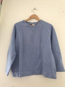 Damenmode Gerade Ladies Jumper Active 14-16 Blue Long Sleeve Casual <jj10663 Mit Traditionellen Methoden Kleidung & Accessoires