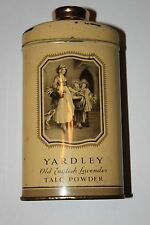 Boite de talc Yardley Old English lavender