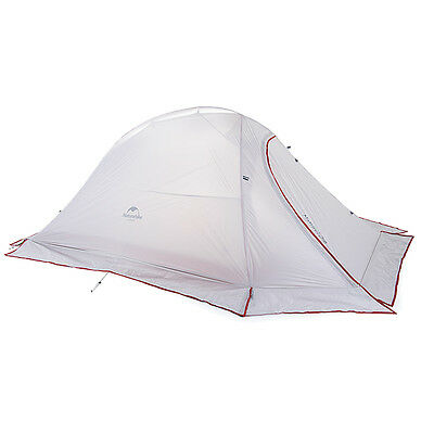 2 Person Outdoor Ultralight Camping  Silicone Waterproof Tent with Snow Skirt