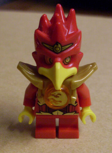 NEUF oiseau rouge flincks courtes jambes LEGO Legends of Chima-flinx personnage