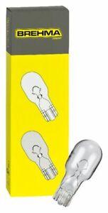 10x BREHMA W10W 12V 10W T13 Glassockel Lampe W2.1x9.5d Glassockellampe Birne