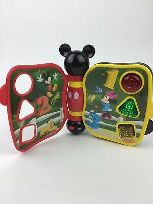 Shapes and Sounds Hap-P-Kid Disney Mickey Mouse Clubhouse First Learning Book