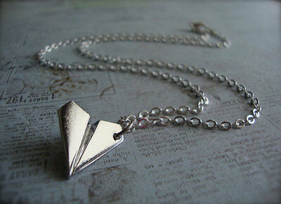★ ONE DIRECTION ticket Harry zayn niall louis liam AIRPLANE Silver Necklace 1D ★