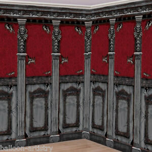 image is loading gothic halloween scene setter haunted mansion room roll