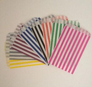 X100 Sacchetti CARAMELLE CANDY BAR BUFFET KIT Wedding Party Pick & Mix * colore a scelta  </span>