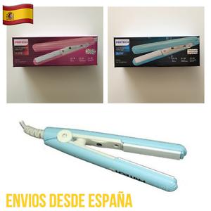 Plancha-Pelo-Ceramica-PRITEC-19W-Portatil-Viaje-Alisador-Azul-Y-Rosa-TA-717-PROF