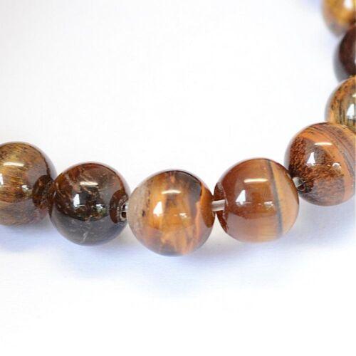 Kugel Strang Edelstein Natursteine BEST G57 A Qualität Tigerauge Perlen 8mm