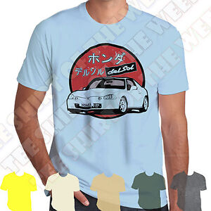 Honda-Del-Sol-CRX-Mens-T-shirt-Personalised-plate-option-7-colours-of-Tee