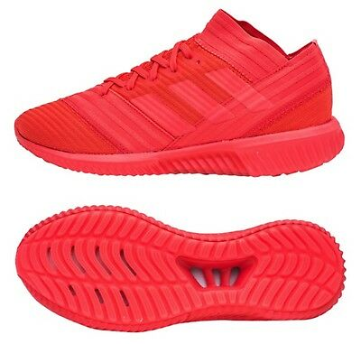 70c5076b5e91 Adidas Men NEMEZIZ Tango 17.1 TR Indoor Red Soccer Shoes Boot Shoes CP9116