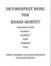 Oktoberfest Music Brass Quintet Sheet Music