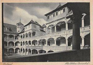 Cartolina-Postcard-Stuttgart-Altes-Schloss-anni-039-50