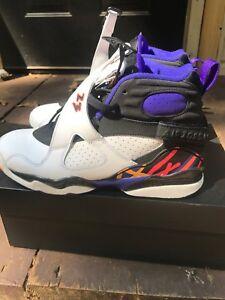 f317b965d7681 Nike Air Jordan 8 VIII Retro BG SZ 7yThree 3 Peat Concord GS 305368 ...