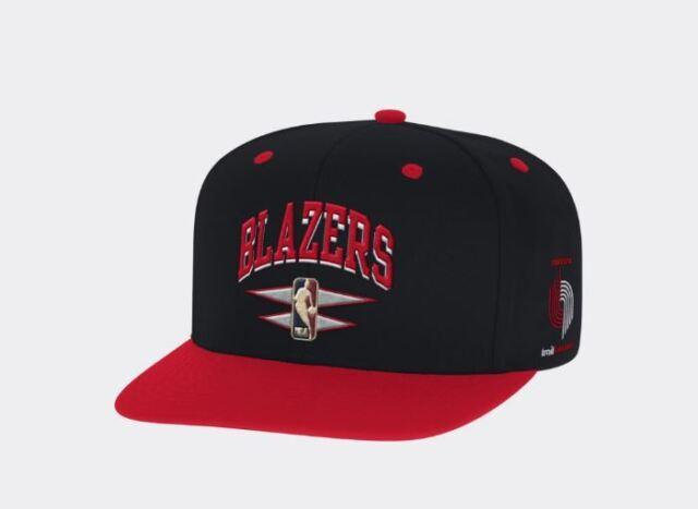 Portland Trail Blazers Mitchell & Ness NBA Double Diamond Snapback Hat Cap