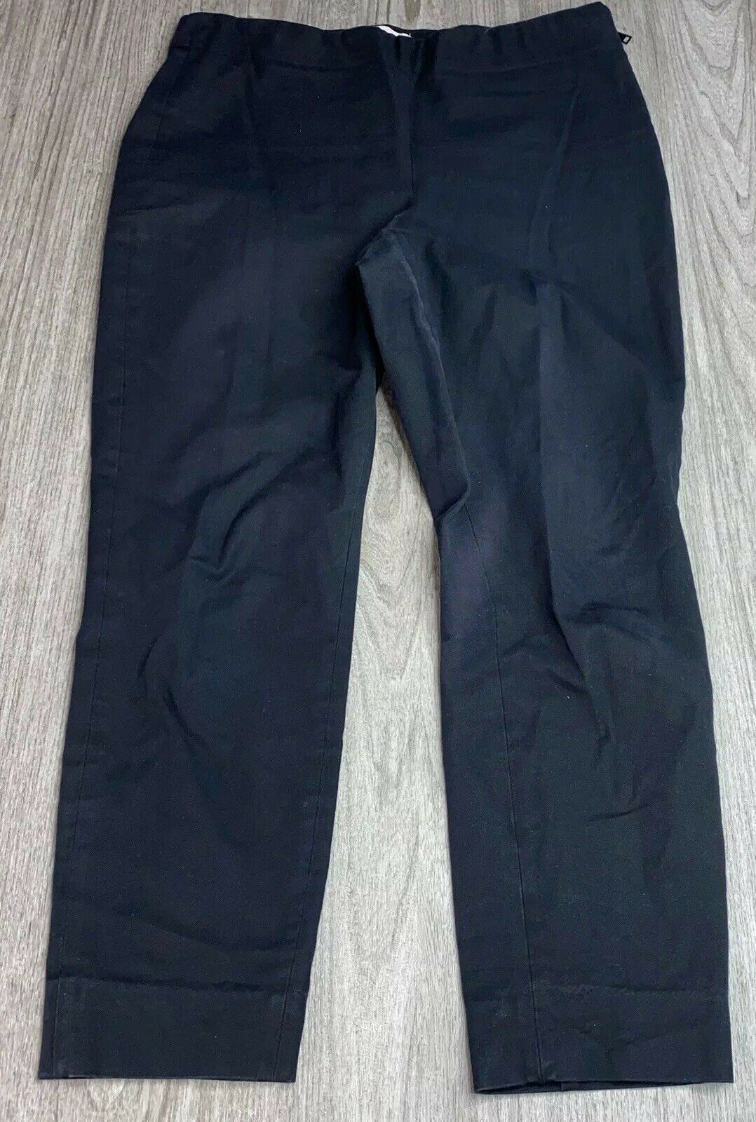 Everlane The Side-Zip Work Pants Size 12 Black Wo… - image 4