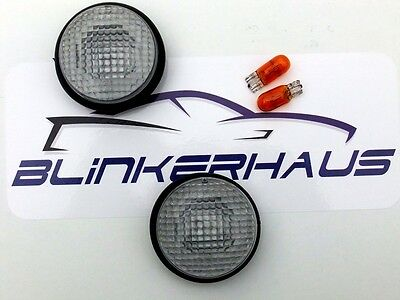 CLEAR Nissan March Micra K11 92-98 Pao S-Cargo Be-1 Side Repeaters Indicators