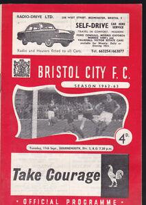 1962-63-BRISTOL-CITY-V-BOURNEMOUTH-11-09-1962-Division-3