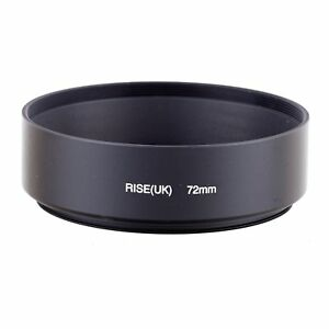 Metal-72mm-Standard-Lens-Hood-with-Screw-Mount-for-Canon-Nikon-Pentax-Lens