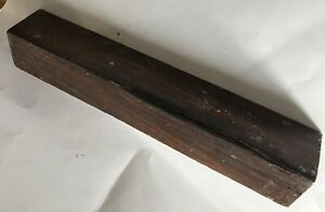 Real-Lignum-Vitae-Wood-2x12-Guaiacum-officinale-Turkey-Calls-Knife-Tool-Handles