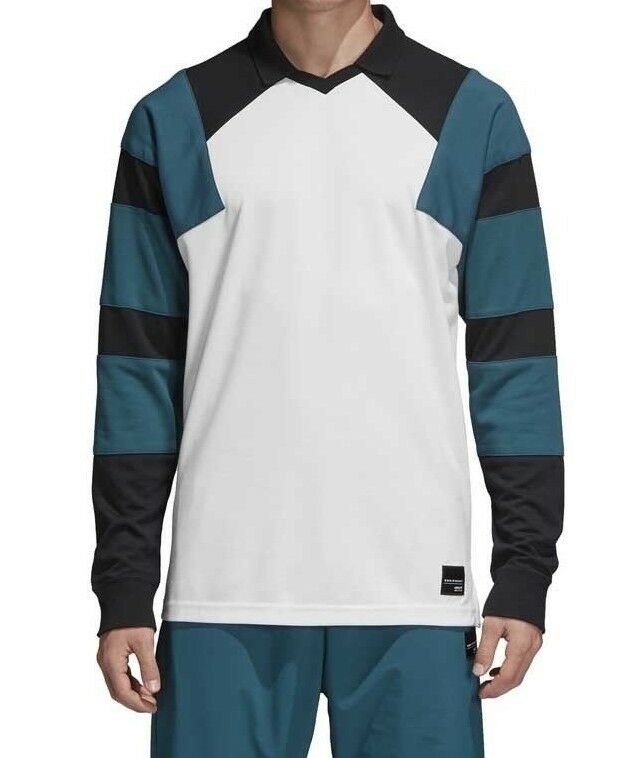 BNWT Da Uomo Adidas Originals Eqt Football T-shirt Felpa Stile Top Taglia L