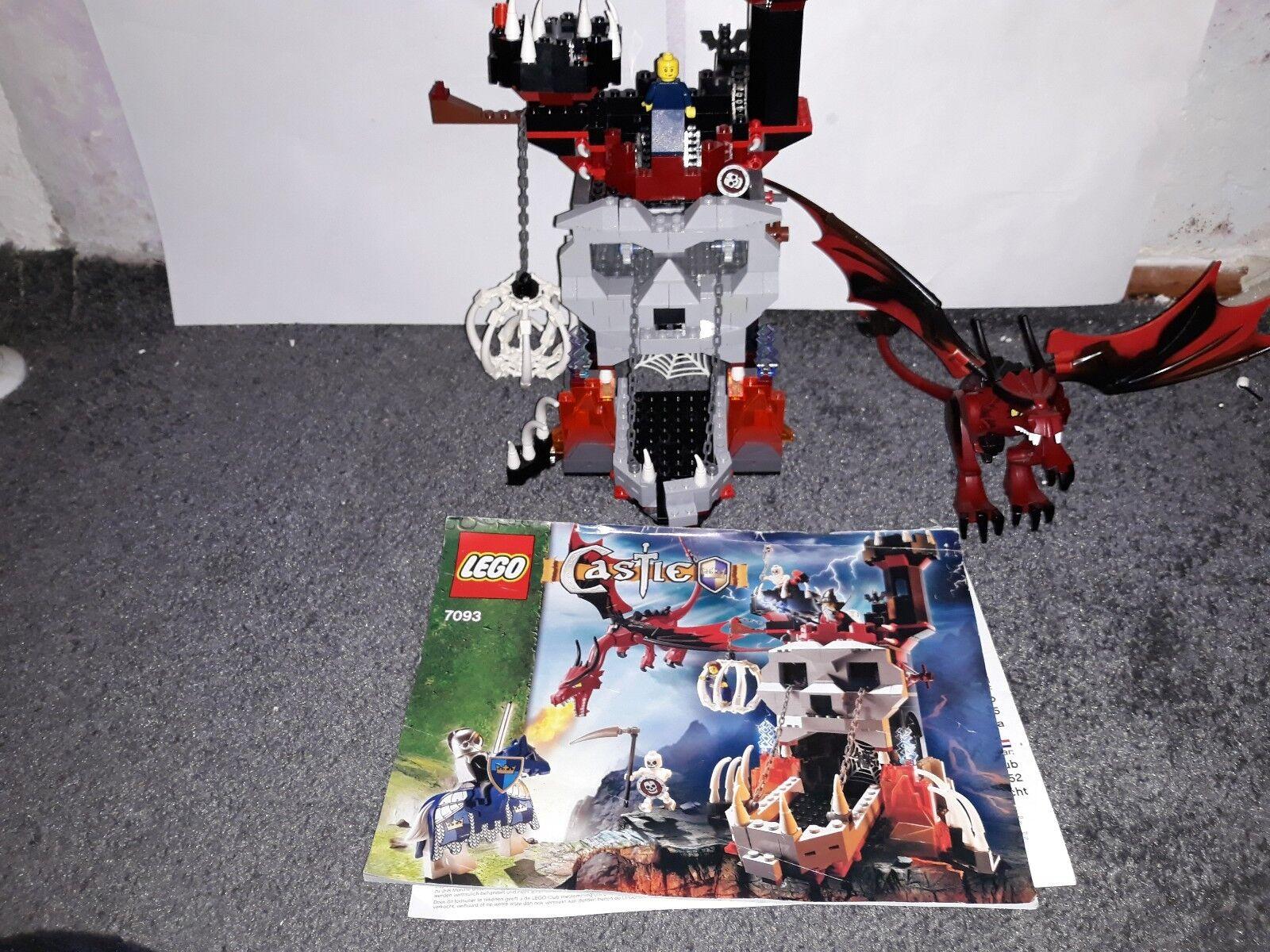LEGO 7093 7093 7093 Turm des bösen Magiers Castle Ritter 197d8d