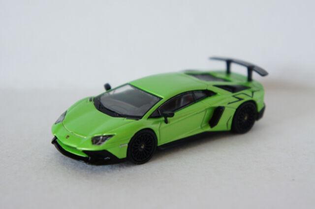 Tarmac Works Lamborghini Aventador Sv Verde Ithaca 1 64 For Sale