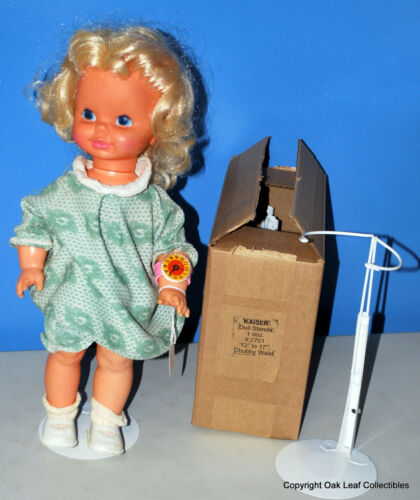 """White for 12/"""" to 17/"""" chubby waisted Cabbage Patch Terri Lee 3 Doll Stand #2701"""